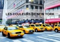 Bourrigaud Frédéric - Les couleurs de New York (Calendrier mural 2017 DIN A3 horizontal) - Créations graphiques sur la ville de New york (Calendrier mensuel, 14 Pages ).