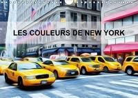 Bourrigaud Frédéric - Les couleurs de New York (Calendrier mural 2017 DIN A4 horizontal) - Créations graphiques sur la ville de New york (Calendrier mensuel, 14 Pages ).