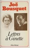 Bousquet - Lettres à Ginette - [1930-1950].