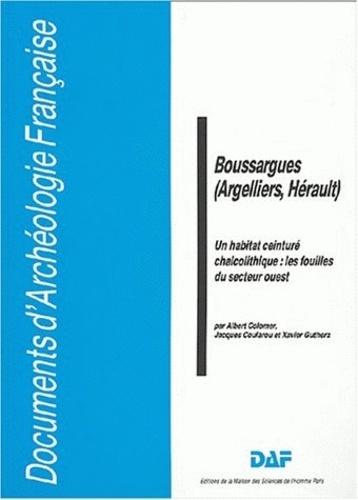 Albert Colomer - Boussargues (Argelliers, Hérault) - Un habitat ceinturé chalcolithique : les fouilles du secteur ouest.