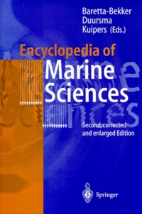 Deedr.fr ENCYCLOPEDIA OF MARINE SCIENCES. - With 126 figures, 2nd edition 1998 Image