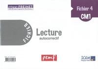 ICEM-Pédagogie Freinet - Lecture CM1 - Fichier 4, autocorrectif.