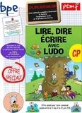 Sandrine Wendling et Michel Rius - Lire, dire, écrire avec Ludo - Kit de base 4 volumes : Guide du maître, affiches des sons, illustrations du manuel, production écrite.