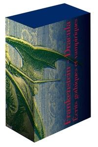 Bram Stocker et Mary Shelley - Coffret en 2 volumes : Frankenstein ; Dracula - Et autres écrits gothiques et vampiriques.