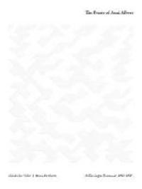 Brenda Danilowitz et Nicholas Fox Weber - The prints of Anni Albers - A catalogue raisonné.
