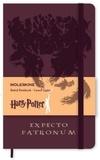 BREPOLS GRAPHIC - Carnet Moleskine rigide 13x21 Harry Potter ligné Expecto Patronum