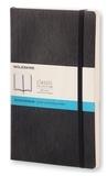 BREPOLS GRAPHIC - Carnet Moleskine souple 13 x 21 cm pointillé noir