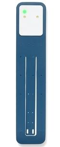 BREPOLS GRAPHIC - Lampe de lecture Moleskine bleu sous marin