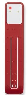 BREPOLS GRAPHIC - Lampe de lecture Moleskine rouge scarlet