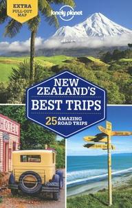 Brett Atkinson et Andrew Bain - New Zealand's Best Trips - 25 amazing Road Trips. 1 Plan détachable