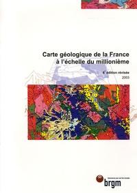 BRGM - Carte géologique de la France - 1/1 000 000.
