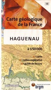 BRGM - Haguenau - 1/50 000.