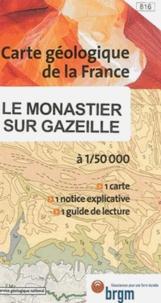 BRGM - Le Monastier-sur-Gazeille - 1/50 000.