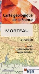 BRGM - Morteau - 1/50 000.