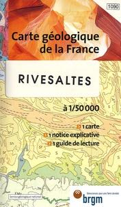 BRGM - Rivesaltes - 1/50 000.