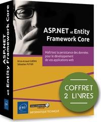 Brice-Arnaud Guérin et Sébastien Putier - ASP.NET et Entity Framework Core - Coffret en 2 volumes : Maîtrisez la persistance des données pour le développement de vos applications web.