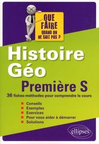 Brice Demars et Stéphane Paquelin - Histoire-Géographie 1re S - 36 fiches-méthodes pour comprendre le cours.