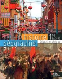 Brigitte Allain-Chevallier - Histoire-Géographie Education civique 1e Bac Pro.