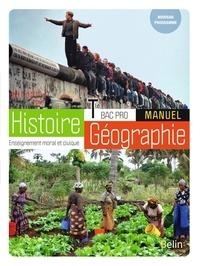 Brigitte Allain-Chevallier et Eric Favard - Histoire-Géographie-EMC Bac Pro Tle - Manuel.