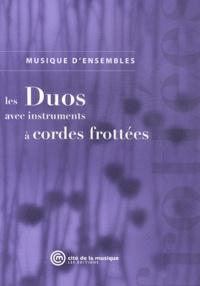 Brigitte Barat et Claire Merlet - Les duos avec instruments à cordes frottées.