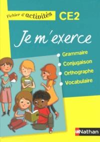 Brigitte Baudelot et Houria Delourme-Bentayeb - Je m'exerce grammaire-conjugaison-orthographe-vocabulaire CE2 - Fichier d'activités.