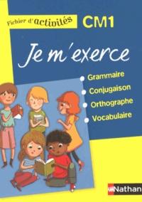 Brigitte Baudelot et Houria Delourme-Bentayeb - Je m'exerce grammaire-conjugaison-orthographe-vocabulaire CM1 - Fichier d'activités.