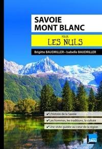 Brigitte Baudriller et Isabelle Baudriller - Savoie Mont Blanc pour les nuls.