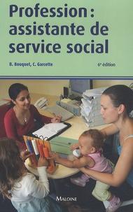 Brigitte Bouquet et Christine Garcette - Profession : assistante de service social.