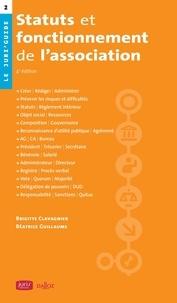 Brigitte Clavagnier - Statuts et fonctionnement de l'association - 4e éd..