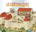 Brigitte Coppin et Damien Catala - Le château fort.