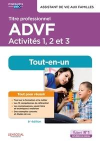 Brigitte Croff et Juliette Rotondo - Titre professionnel ADVF Activités 1, 2 et 3 - Préparation complète pour réussir sa formation.