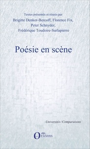 Brigitte Denker-Bercoff et Florence Fix - Poésie en scène.