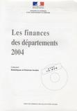 Brigitte Doguet - Les finances des départements 2004. 1 Cédérom