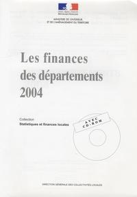 Checkpointfrance.fr Les finances des départements 2004 Image
