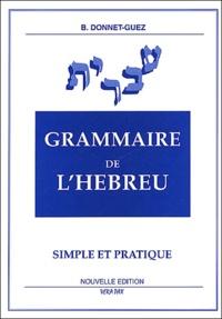 Sennaestube.ch Grammaire de l'hébreu simple et pratique Image