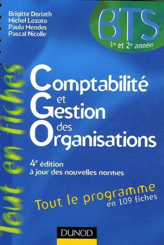 Brigitte Doriath et Michel Lozato - Comptabilité et gestion des organisations BTS 1e et 2e années.