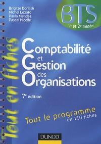 Brigitte Doriath et Michel Lozato - Comptabilité et gestion des organisations BTS 1re et 2e années.