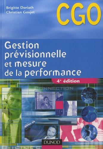 Brigitte Doriath et Christian Goujet - Gestion prévisionnelle et mesure de la performance - CGO Processus 3 : Prévision et gestion budgétaire ; Mesure et analyse de  la performance.