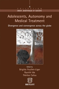 Deedr.fr Adolescents, Autonomy and Medical Treatment - Divergence and convergence across the globe Image