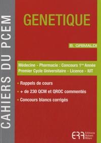 Brigitte Grimaldi - Génétique.