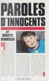 Brigitte Hemmerlin - Paroles d'innocents.