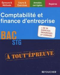Brigitte Herchin-Boivin et Christine Gossent - Comptabilité et finance d'entreprise, BAC STG.