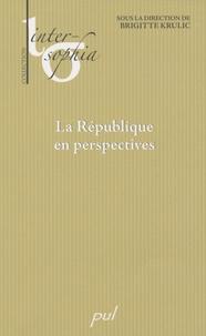 Brigitte Krulic - La République en perspectives.