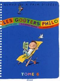 Rhonealpesinfo.fr Les goûters Philo - Tome 6 Image