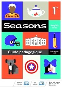 Livres audio du domaine public à télécharger Anglais B1>B2 1re Seasons  - Guide pédagogique en francais 9782013236065 ePub par Brigitte Lallement, Nathalie Lallement