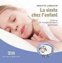 Brigitte Langevin - La sieste chez l'enfant.