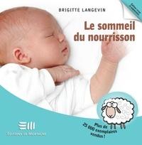 Brigitte Langevin - Le sommeil du nourrisson 2e édi.