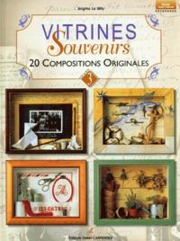 Brigitte Le Dilly - Vitrines souvenirs - 20 compositions originales, volume 3.