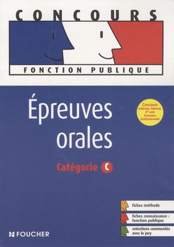 Brigitte Le Page - Epreuves orales, catégorie C.