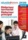 Brigitte Le Page et Bruno Rapatout - Rédacteur territorial, rédacteur principal - Concours externe, interne et examens professionnels, catégorie B.
